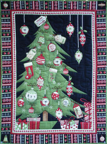 Debbie Mumms Advent Wall Hanging
