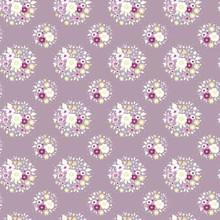 Tilda Autumn Tree Fabric - Thula - Lilac 1/2 Metre Length