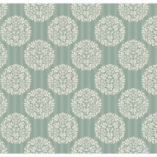 Tilda Spring Lake Fabric - Flower Ball Teal 1/2 Metre Length