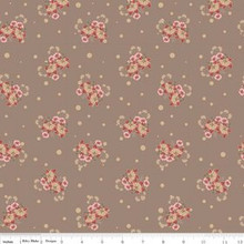 Romancing in the past  C4274-TAN 1/2 Metre Length
