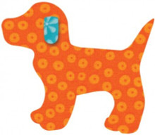 55064 - AccuQuilt Die -  Gingham Dog