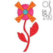 55372 - AccuQuilt Die -  Kay's Bouquet