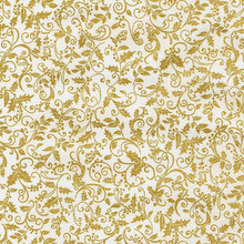 Winter's Grandeur 3 - 15192 - Ivory 1/2 Metre Length
