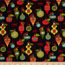 Ornaments - 10052 - Midnight 1/2 Metre Length