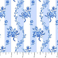 Porcelain Blue 05 1/2 Metre Length
