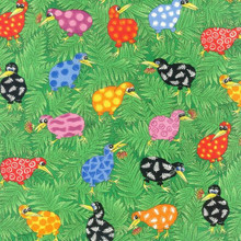 Rainbow Kiwi's Col. 101 Multi  1/2 Metre Length