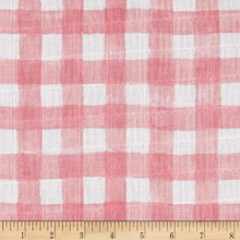 Double Gauze Sommer Pink 1/2 Metre Length