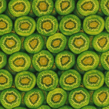Kiwifruit Colour 1 Green  1/2 Metre Length