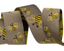 Renaissance Ribbons - 2 Bees - 1 Meter Length