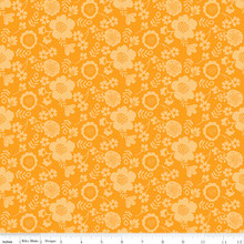 WISTFUL PETAL ORANGE 1/2 Metre Length