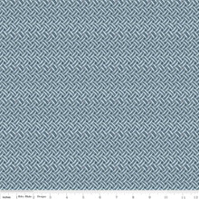 ANNE WEAVE BLUE 1/2 Metre Length