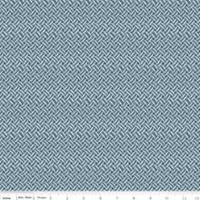 ANNE WEAVE BLUE 1/2 Metre Length