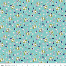 TOY BO PEEP AQUA 1/2 Metre Length