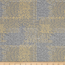 Lustre Metallic - Shakespear Graphite 1/2 Metre Length