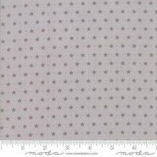 Sugar Plum Christmas Mouse Grey 2915-18 by Bunny Hill 1/2 Meter length