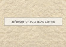 Batting 80/20 - 80% Cotton 20% Polyester mix