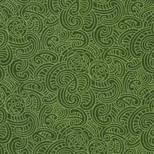 Ponga Koru Col. 102 Green 1/2 Metre Length