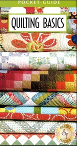 Quilting Basics pocket guide - fold out