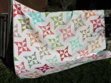 "Arabesque Quilt  86"" x 71"" Custom Quilted.  ONE ONLY"