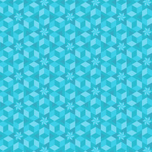 Starfish - Ocean - 8638 - 1/2 Metre Length