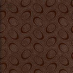 Aboriginal Chocolate 1/2 Metre Length