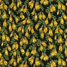 Kowhai Blossoms Col. 2  1/2 Metre Length