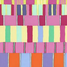 Artisan - Layered Stripe - Pink 1/2 Metre Length