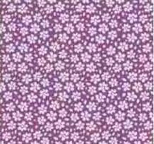 Tilda Birdpond - Marnie Lilac 100088-per half metre length