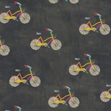Wonder 50516-5 charcoal bicycles  per half metre length