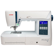 Janome Skyline S6 sewing machine 9mm