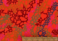 Kaffe Fassett Red Moss - per half metre length