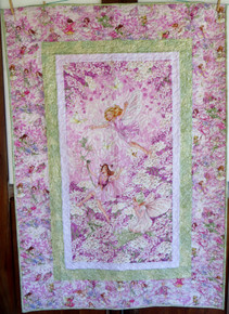 "Dancing Faries Kitset - Finished size 42"" x 61  1/2"""