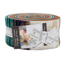 Moda Metalics Basic Grey Jelly Roll 2 1/2""