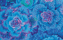 Brassica Blue  1/2 Metre Length