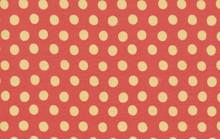 Spots Paprika  1/2 Metre Length