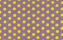 Spots Periwinkle  1/2 Metre Length