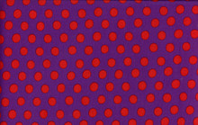 Spots Purple   1/2 Metre Length