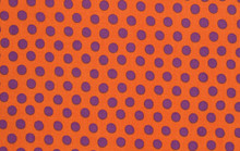 KF Classics - Spot - Orange  1/2 Metre Length