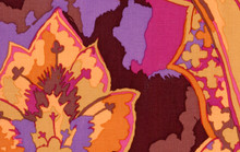 Kaffe Fassett Collective - Gothic - Brown  1/2 Metre Length