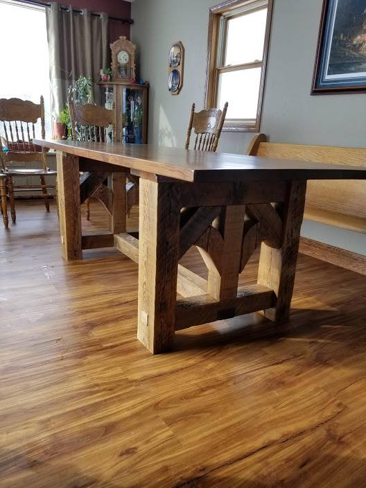 Barn \u0026 Beam & American Vintage Dining Table