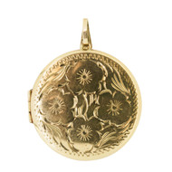 Vintage 9ct Gold Large Locket