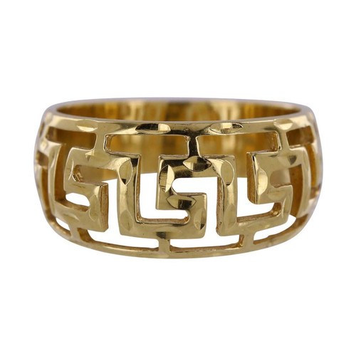 Second hand 18ct Gold Fancy Band