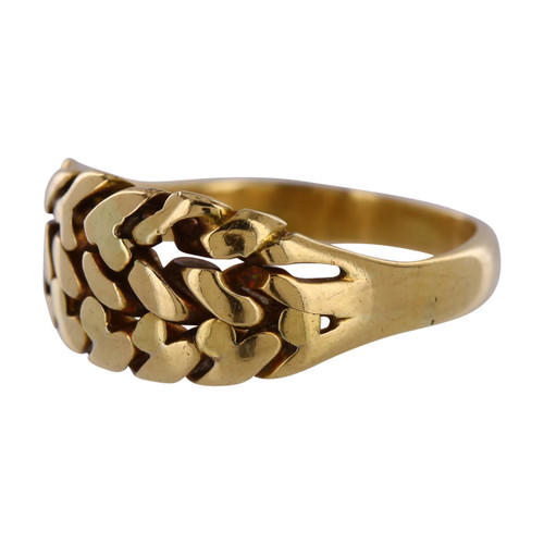 Vintage 18ct Gold Knot Design Ring