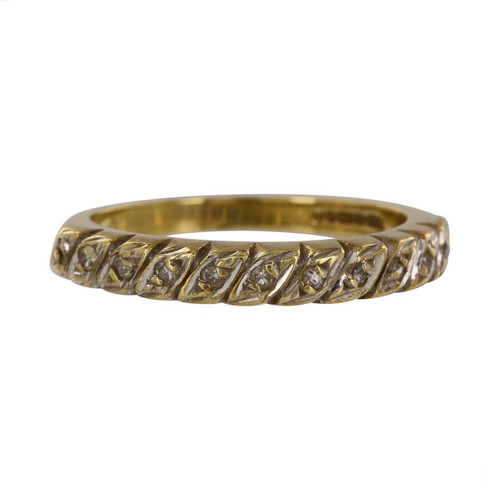 Pre Owned 9ct Gold Eternity Ring