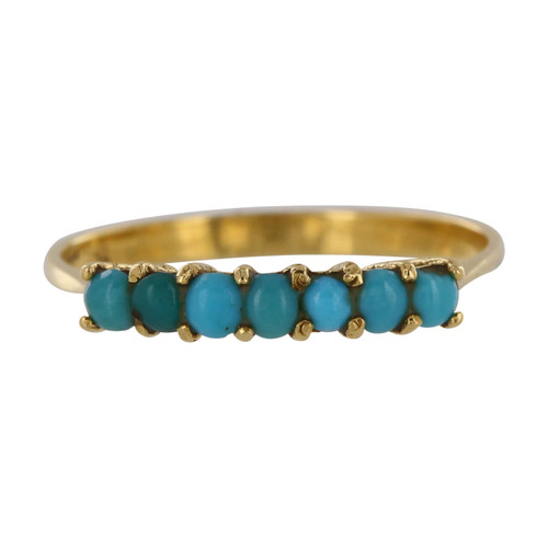 Second Hand 18ct Gold Turquoise Ring
