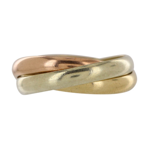 Second Hand 9ct Gold Russian Wedding Ring