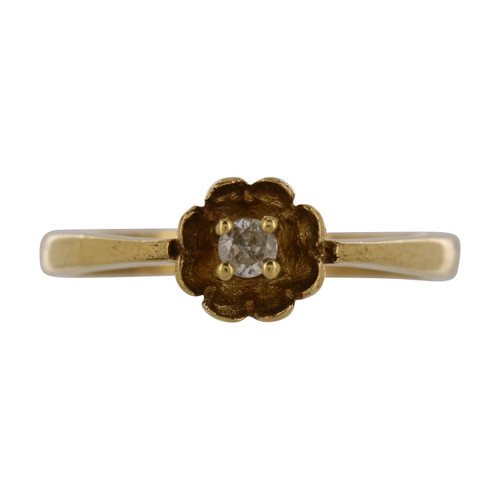 Second Hand 9ct Gold Diamond Ring