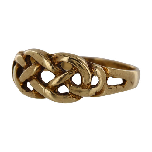 Second Hand 9ct Gold Celtic Knot Ring