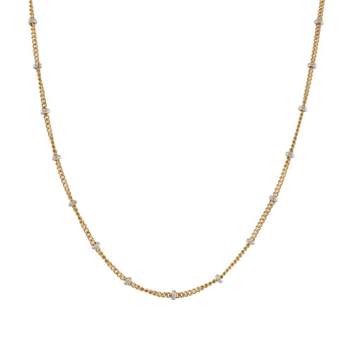Second Hand 18ct Gold Saturn Chain