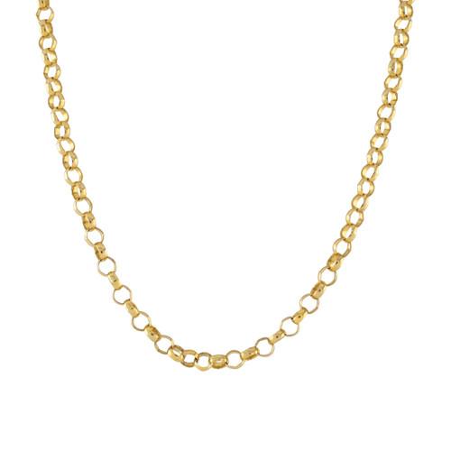 Second Hand 9ct Gold Long Belcher Chain